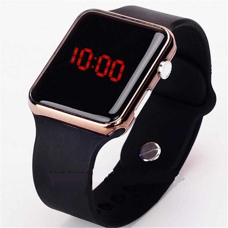 ¡Novedad de 2020! reloj Digital Led para hombre, reloj de pulsera de silicona para hombre, reloj electrónico para hombre