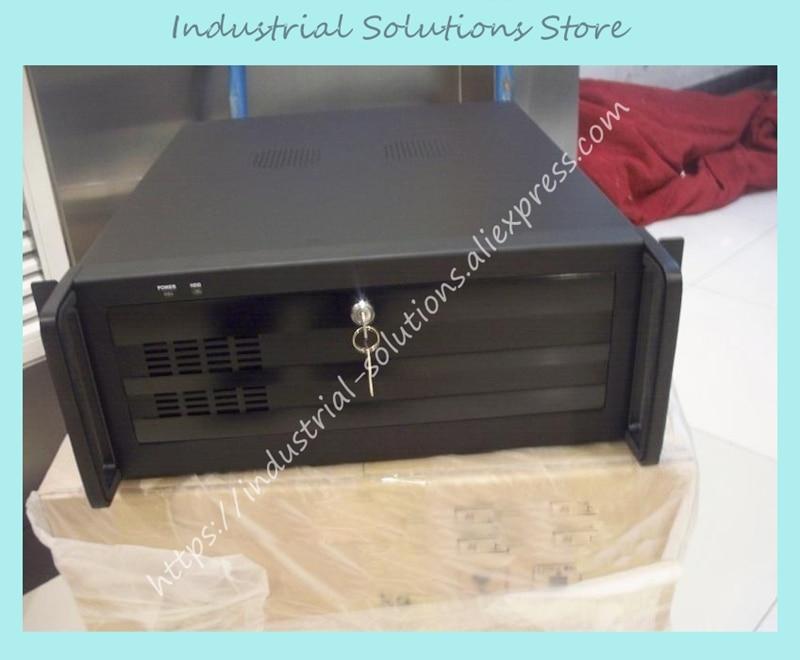 Nuevo Panel de aleación de aluminio de 3MM de espesor 4U, caja de ordenador de servidor de máquina Industrial