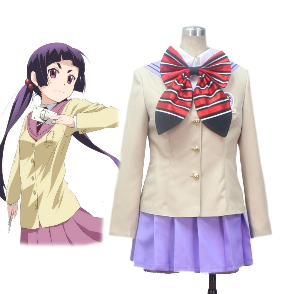High-Q Unisex Cos Anime Ao no Exorcist Kamiki izumo Cosplay Costumes School Sets Suit Dress