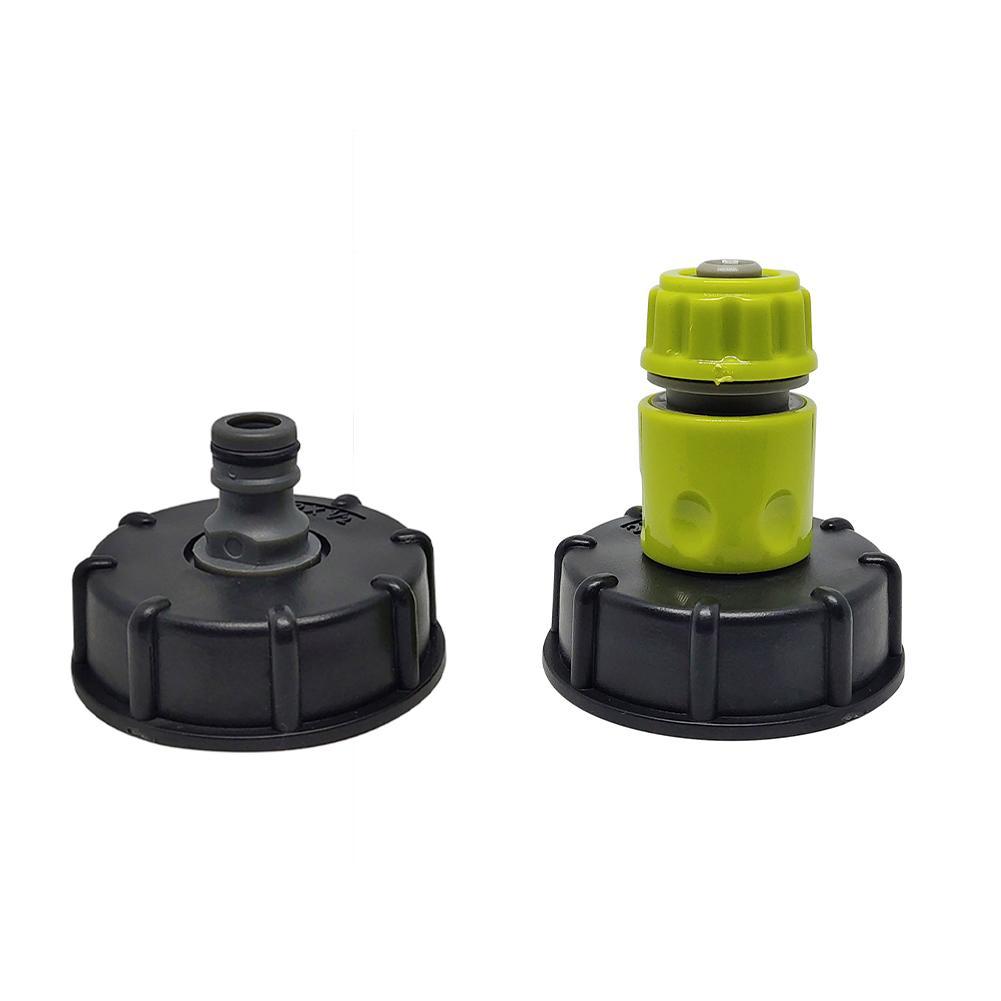 IBC adaptador de grifo de tanque de jardín conector de manguera de agua de plástico adaptador de tubo de reemplazo de válvula accesorios de accesorios