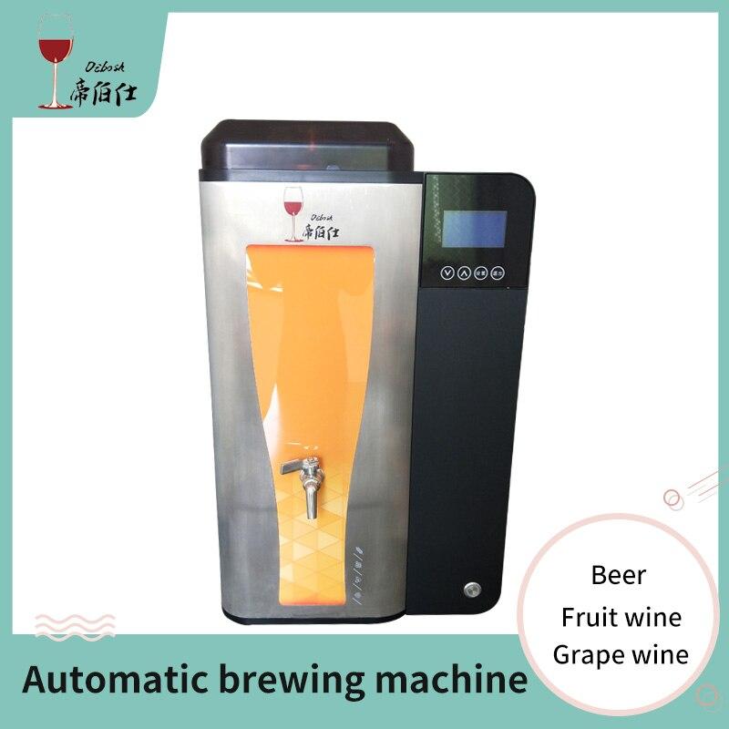 آلة تخمير البيرة الأوتوماتيكية 10 لتر ، العنب ، النبيذ ، الفاكهة ، معدات تخمير المنزل الذكية ، آلة تخمير تلقائية