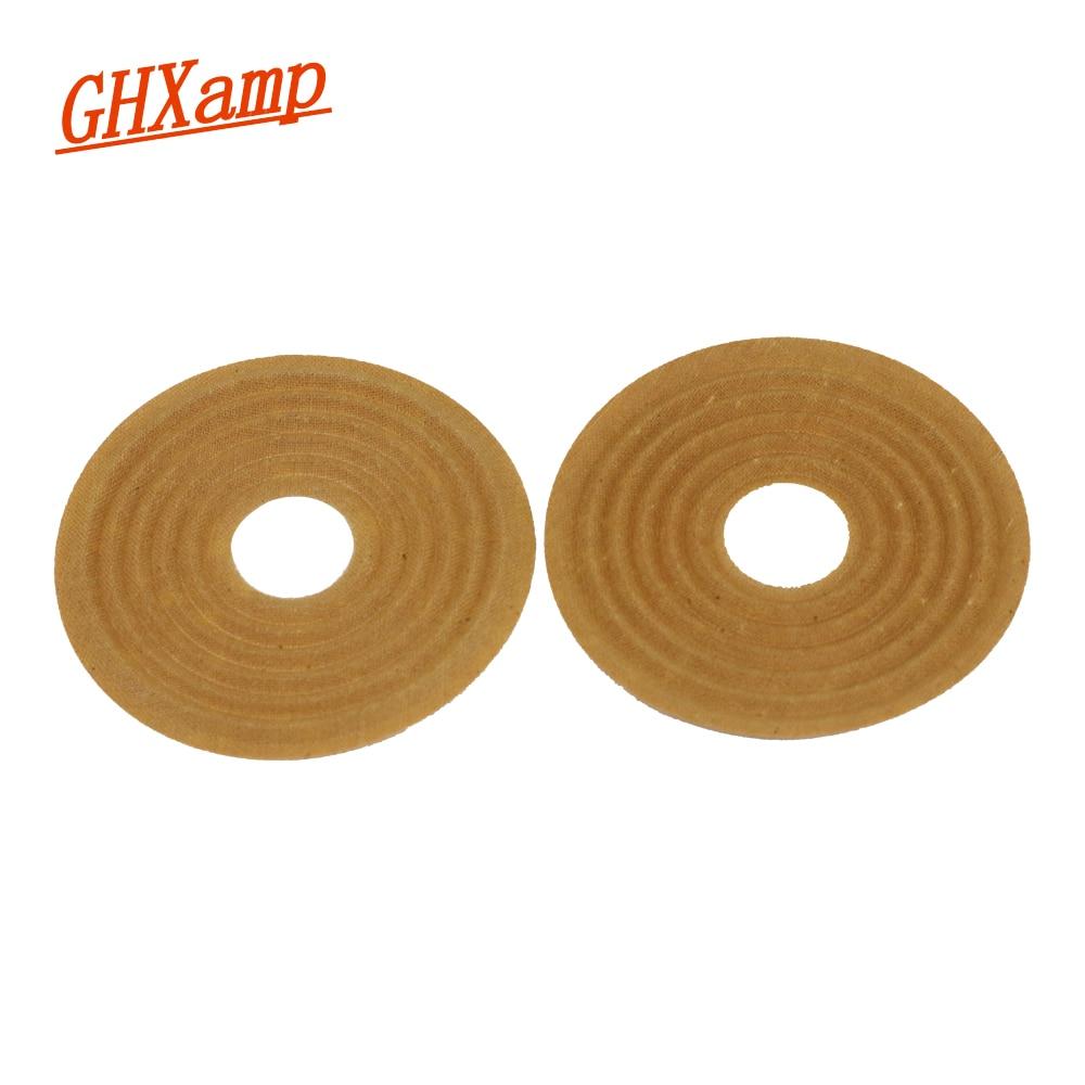 GHXAMP 80mm 20mm altavoz Woofer araña primavera almohadilla paño Reparación de altavoz para 5 pulgadas 6 pulgadas altavoz 2 uds