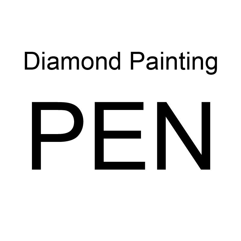 Nueva marca, bolígrafo personalizado para herramientas de pintura de diamantes, accesorios de bordado, herramienta de mosaico, bolígrafos de resina tallados a mano