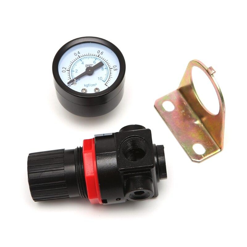 AR-2000 G1/4 neumático Mini regulador de presión de aire compresor de Control # Aug.26