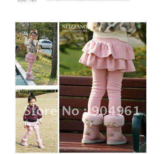 Falda para niñas, pantalones, mallas, faldas para niñas, Otoño Invierno, falda pantalón de primavera