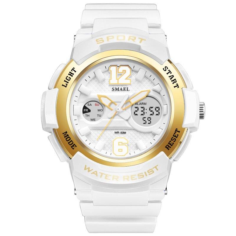 Female sports series electronic quartz watch colorful hip hop multifunction Watch women watches Women's wrist watch SMAEL