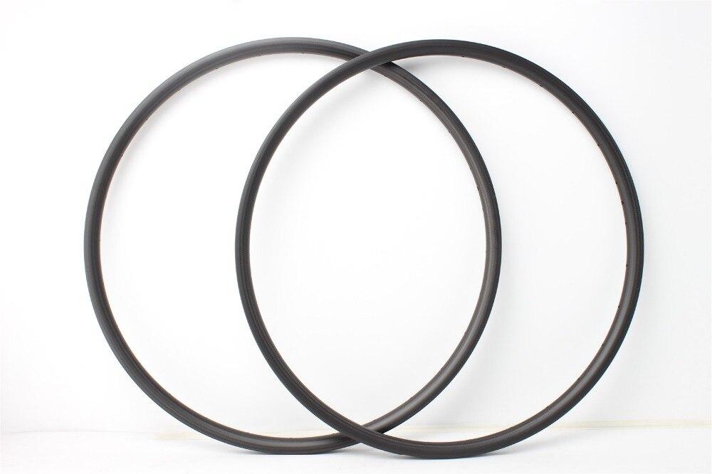 XC version MTB rims 34mm wide 30mm deep 29er full carbon fiber rims OEM factory price T700 carbon rims 28mm internal wide