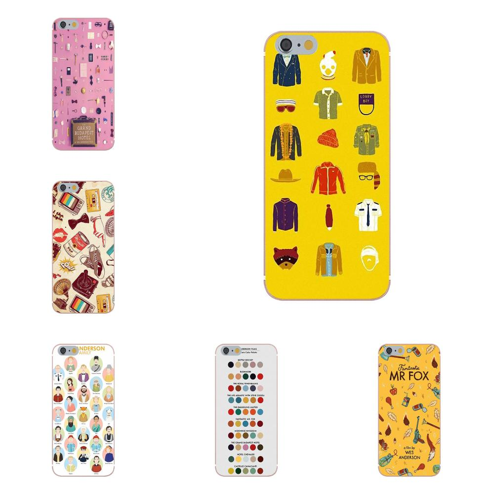 Oedmeb para LG G2 G3 mini espíritu G4 G5 G6 K4 K7 K8 K10 2017 V10 V20 V30 dibujos y TPU suave rosa Wes Anderson equipaje