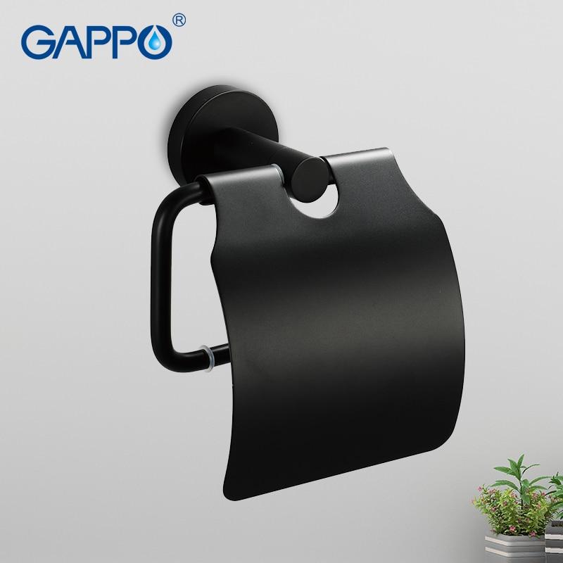 GAPPO الأنسجة حامل الحائط اكسسوارات الحمام أصحاب الحمام الأنسجة حامل البارات أصحاب المرحاض