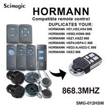 Hormann-duplicateur de télécommande 868mhz   868.35MHz, HORMANN HSE2 HSM4 868 ouvre-porte de garage clone, nouveau 2020