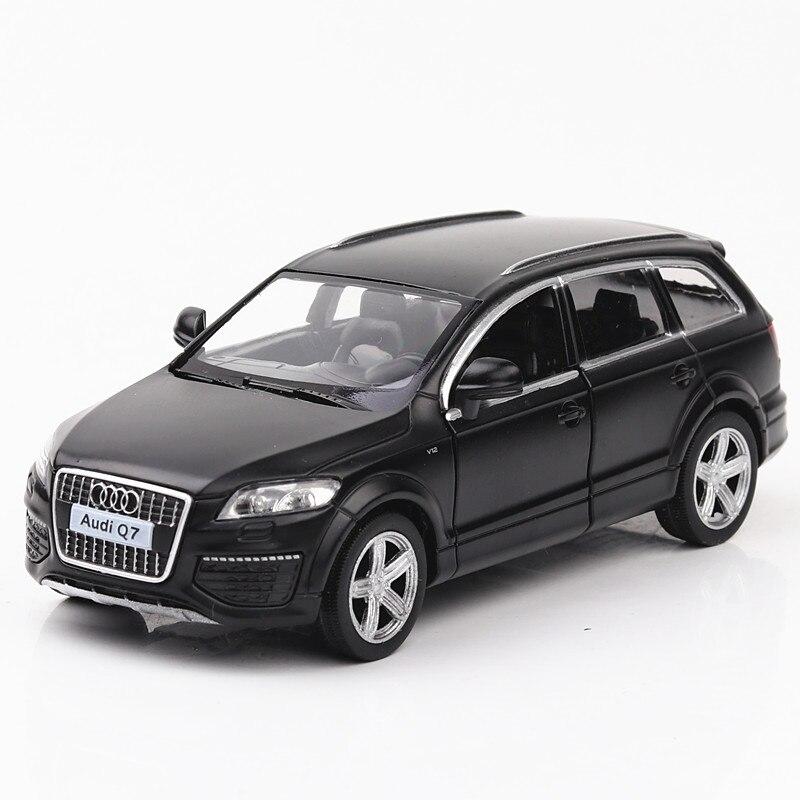 1/36 modelo fundido a presión coche fundido 5 pulgadas 2 puertas abiertas sin electrónica Color negro sin luces sin sonidos modelo colectivo
