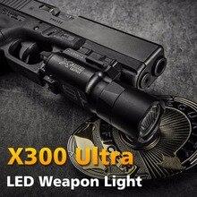 Tactical X300 Ultra Pistol Gun Light X300U Weapon Light Lanterna Torch Rifle Airsoft Flashlight Gloc