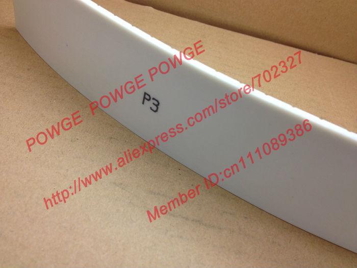 P3 شقة حزام P3-50 عرض 50 مللي متر سمك 3 مللي متر البولي يوريثين مع الصلب الأساسية 10 متر
