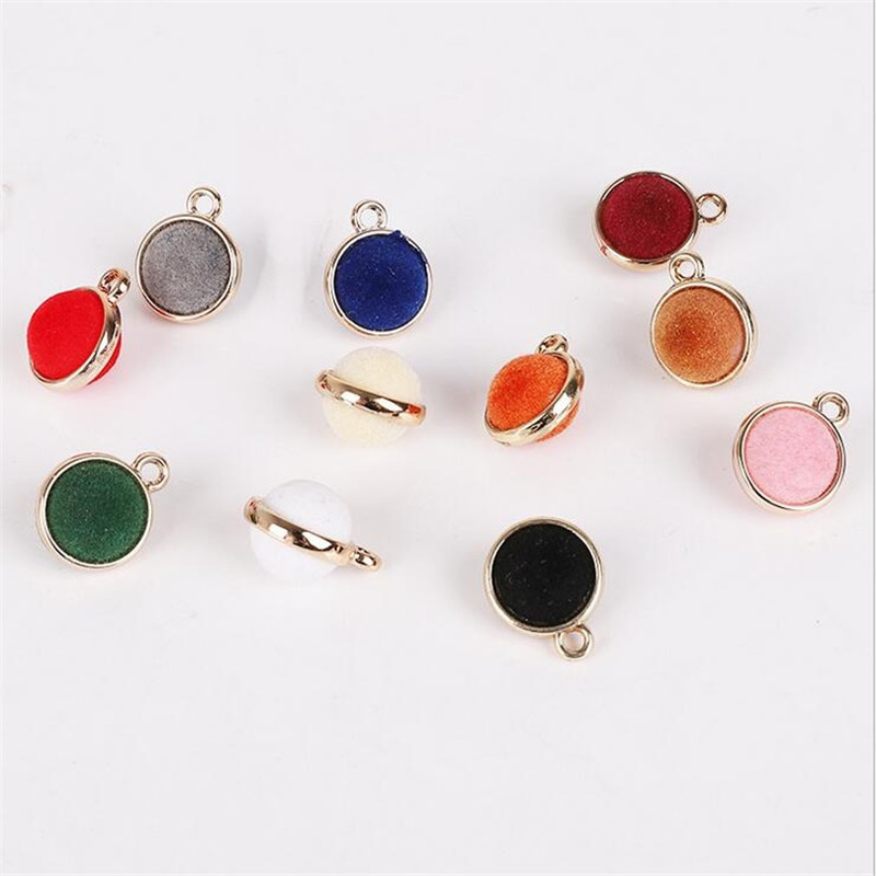 10pcs/lot 15mm Acrylic Round Beads Charms Connectors For DIY Women Fashion Earrings pendant accessories jewelry making material retro resin earrings marble texture round circle ring charms 10pcs lot for diy drop earrings jewelry making accessories
