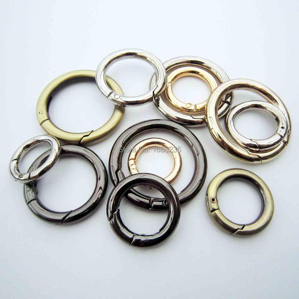 Металлический пружинный уплотнительное кольцо, открывающийся брелок, кожаная сумка, ремень, пряжка, собачья цепь, защелка, зажим, триггер, багаж, кожевенное ремесло