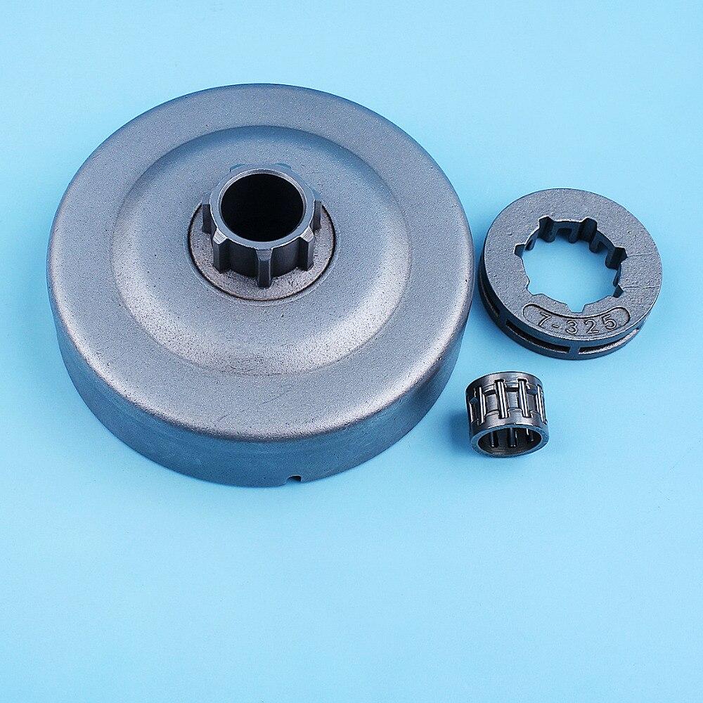 """Kit de rodamiento de tambor de embrague de 325 """"-7T para Stihl MS270 MS280 MS 270 280 MS271 MS281, pieza de repuesto de engranaje de piñón de llanta de motosierra"""