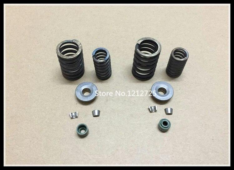 CG двигателя мотоцикла головки цилиндров в сборе CG125 CG150 cg200 cg250 ATV Клапан Весна
