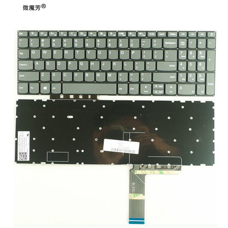 Nuevo teclado de EE. UU. Para Lenovo 5000-15 520-15 520-15IKB 320S-15ISK 320S-15IKB 320S-15IKBR sin retroiluminación