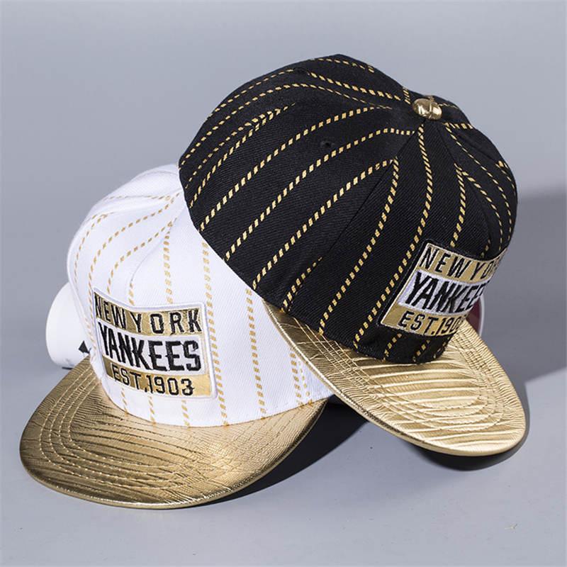 LDSLYJR 2018 algodón 3 Estilo letra gorra de béisbol hip-hop gorra ajustable Snapback sombreros para niños y niñas 349