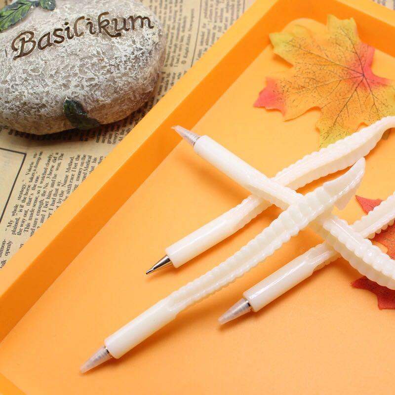 1 unids/lote de bolígrafo negro para rellenar material escolar, suministros de oficina, decoración del hogar, regalo de recompensa para niños