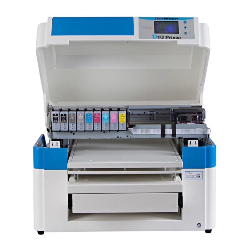 תעשייתי ומסחרי להשתמש A2 גדול גודל חולצה מדפסת ישיר הזרקת דיו בגד חולצה הדפסת מכונה