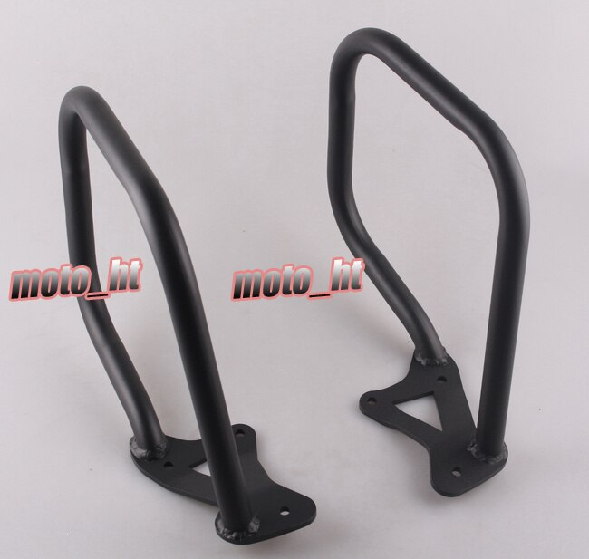 Protector de barra parachoques de carretera trasero para BMW K1600GTL 2011 2012 2013 2014 negro
