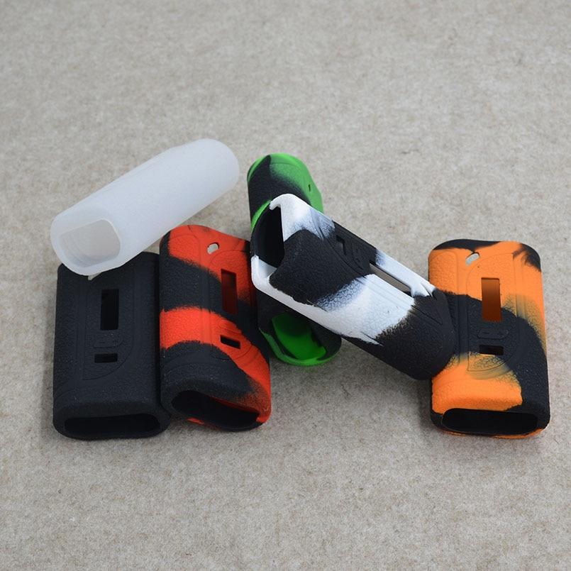 2 uds. Funda de silicona Eleaf iKonn 220 pegatina de piel o funda de silicona/enlourse para Eleaf iKonn 220W caja mod en 6 colores