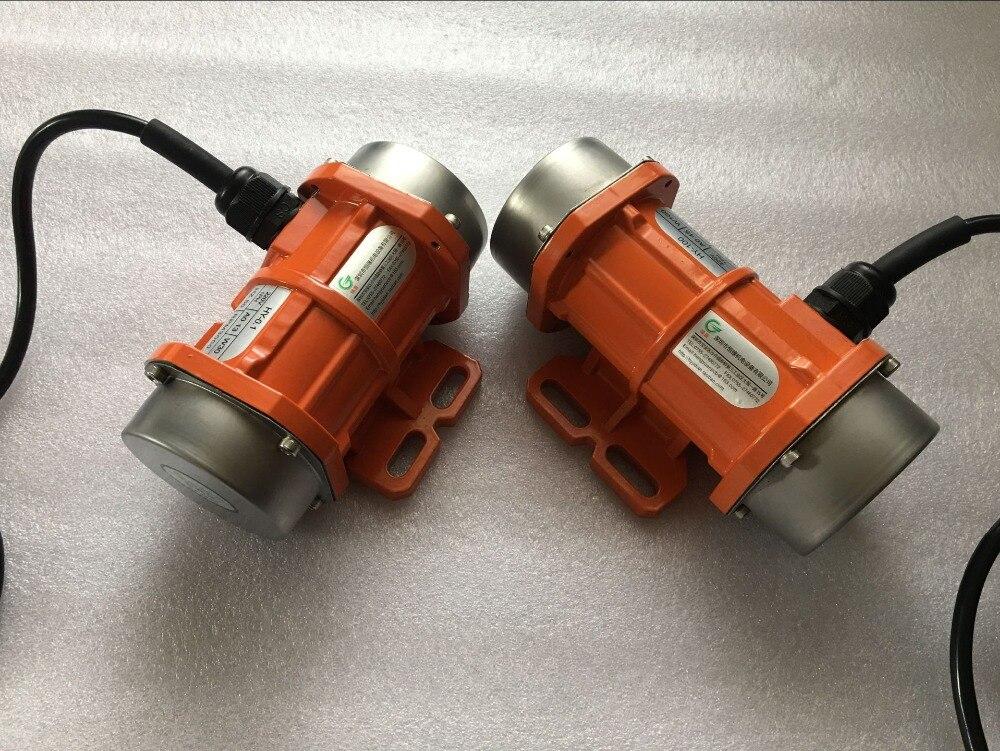 80 W/100 W industria Mini motores de vibración HY-0.1A 120W 110V 220V 380V 1PH 3PH RPM3000
