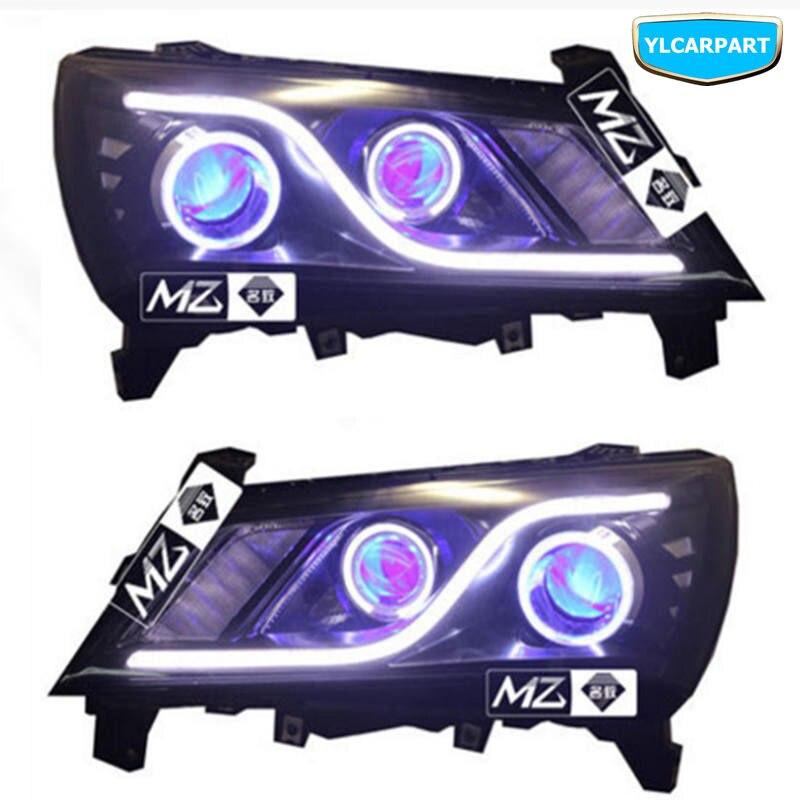 Para geely novo emgrand 7, ec7, ec715, ec718, emgrand7, e7, carro modificado farol com olhos de anjo, olhos de demônio, lentes, luzes de xênon