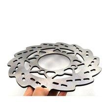 Front Brake Disc 220mm Stainless Steel Bicycle MTB disk brake rotor For ATV Dirt Bike Motorcycle