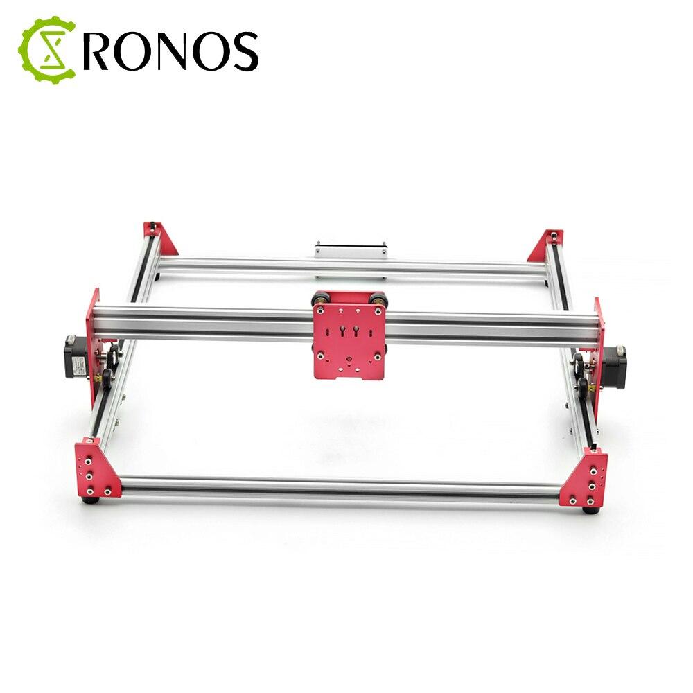 All Metal 45*45cm 500mW/2500mW DIY Laser Engraver Machine 45*45 Engraving Machine 2Axis Wood Router Mini Marking Machine enlarge