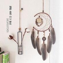 New Scandinavian Style Owl Dreamcatcher Interior house Decoration Ornaments Room Pendant Filter Monternet lover girlfriend Gift