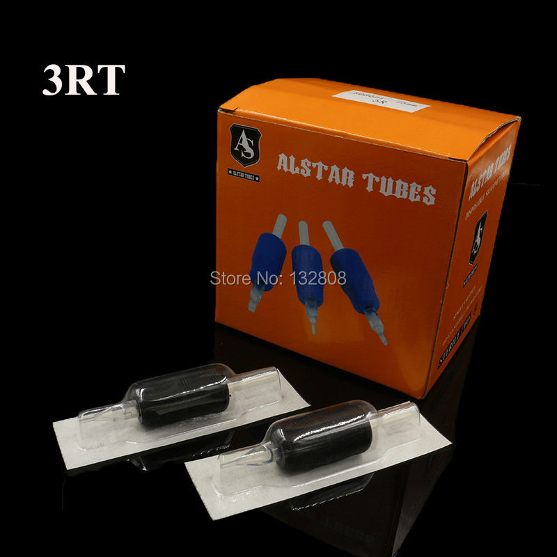 20 piezas 3RT desechable 25MM negro suave silicona tatuaje Grips tubos transparente tubos de plástico preciso Combo envío gratis