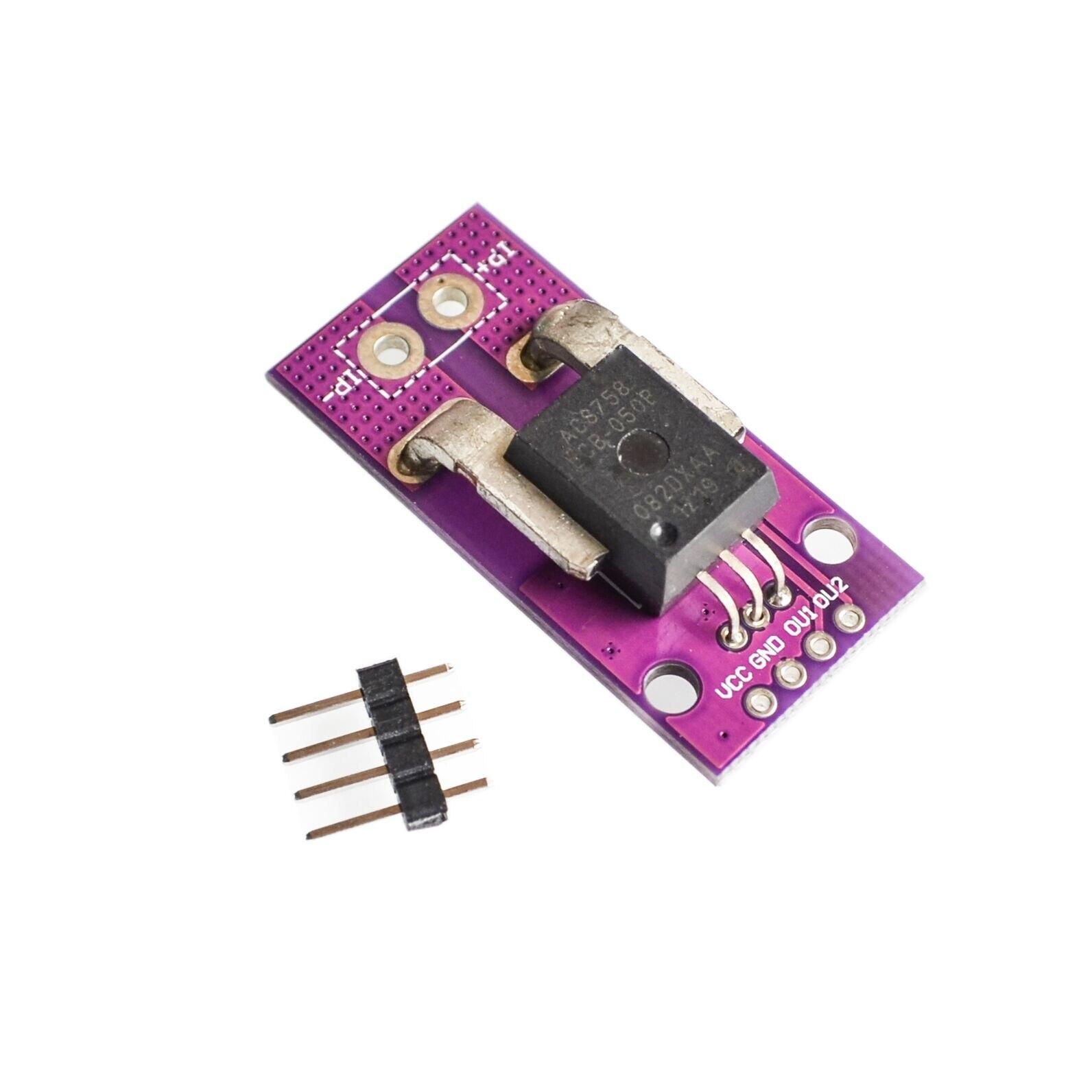 Датчик тока холла, CJMCU-758, линейный датчик тока