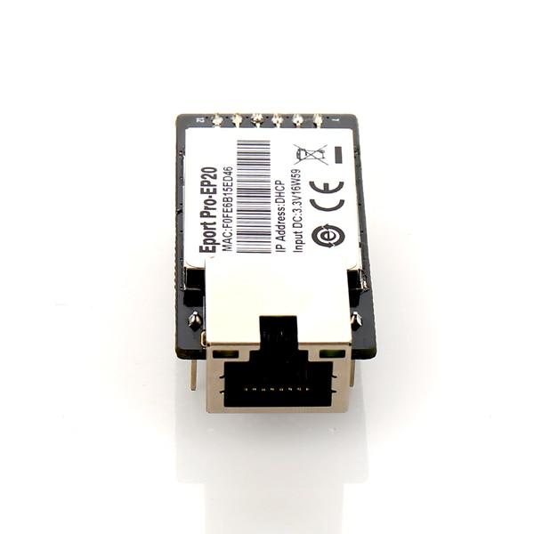 IoT informe Pro-EP20 Linux servidor de red puerto TTL serie a Ethernet módulo embebido DHCP 3,3 V TCP IP Telnet CE certificado