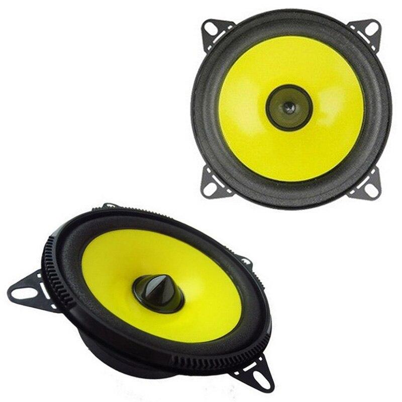 Par de 4 pulgadas de Audio de coche parlante para automóvil Gama Completa sistema estéreo con el aspecto aerodinámico estéreo del coche