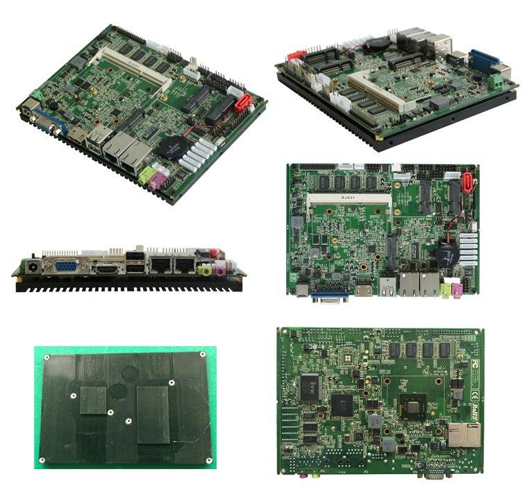 Заводские Лучшие цены Intel Atom N2800 безвентиляторная Промышленная материнская плата для автомобильных ПК X86 Встроенная плата