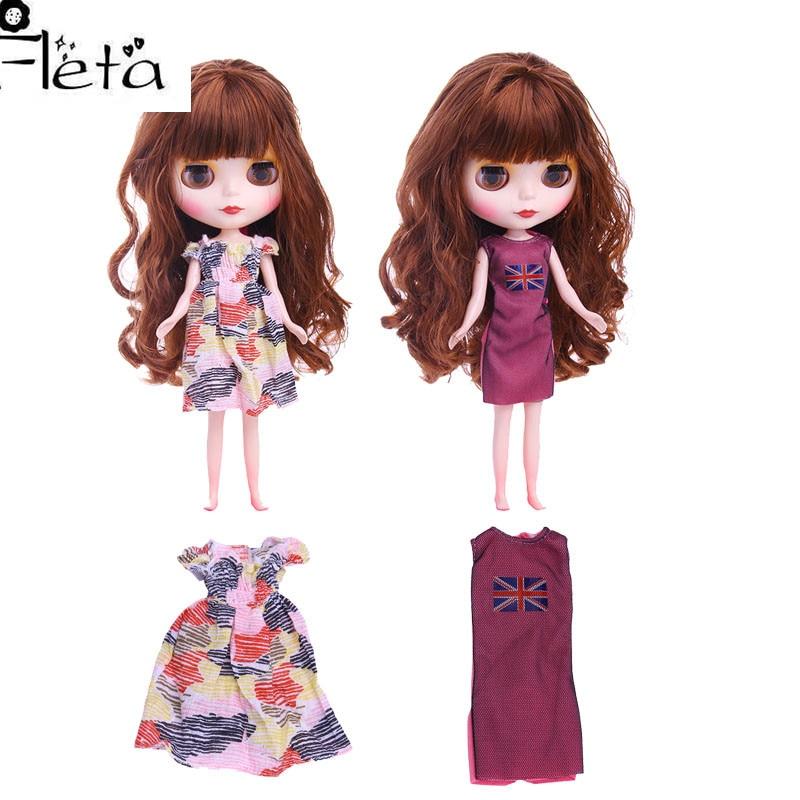 Blyth Doll Dress Best Premium Dress For Blyth Doll Clothes Toy Dress For BJD Doll 1/6 30 Cm Doll Generation,Girl's Toy Gift недорого