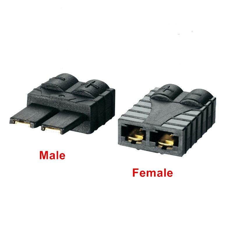 10 pares de conector Traxxas macho/hembra conjunto de enchufe de batería de alta temperatura