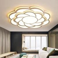 modern creative acrylic ceiling light personality children room romance flower shape cute ceiling light indoor art shadow sconce