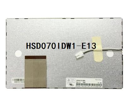 Оригинальный 7-дюймовый ЖК-экран для автомобиля dvd gps HSD070IDW1-E13 HSD070IDW1 60 pin 800*480 165 мм * 100 мм * 5 мм