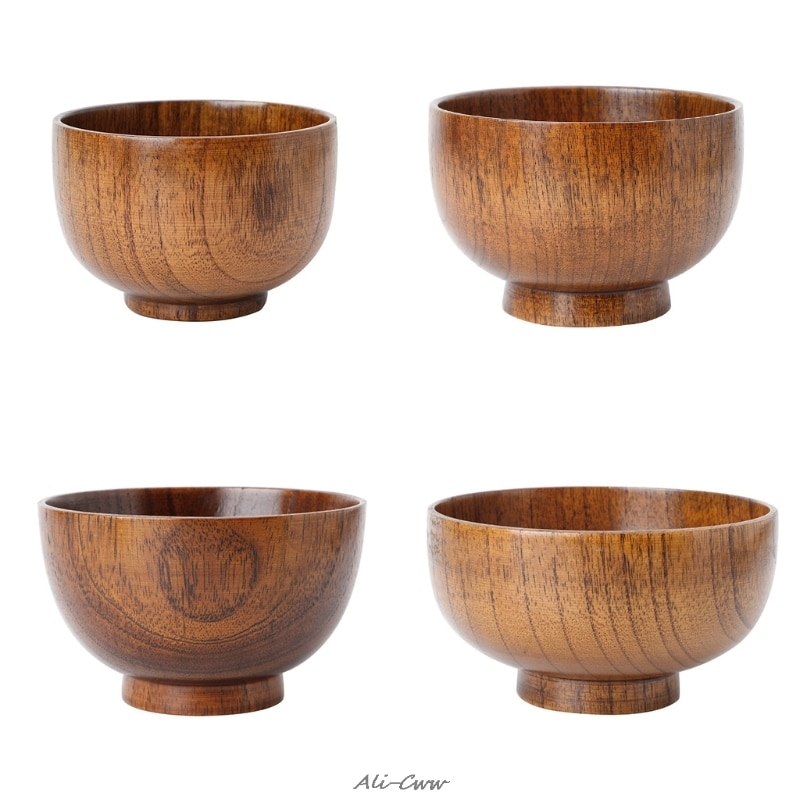 Кухонная утварь посуда натуральное дерево Юба миска для рисового супа контейнер для еды