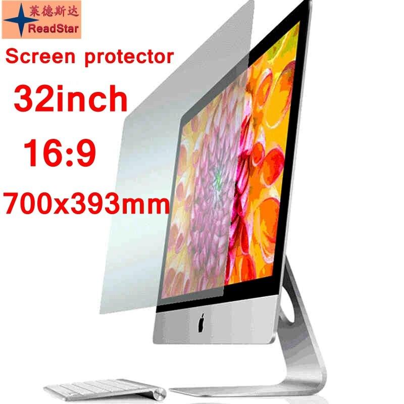 """32 """"(169) szeroki ekran 700x393mm rozmiar komputer stacjonarny Anti-Blue ray Eye folia ochronna folia ekranowa Bule reductio"""