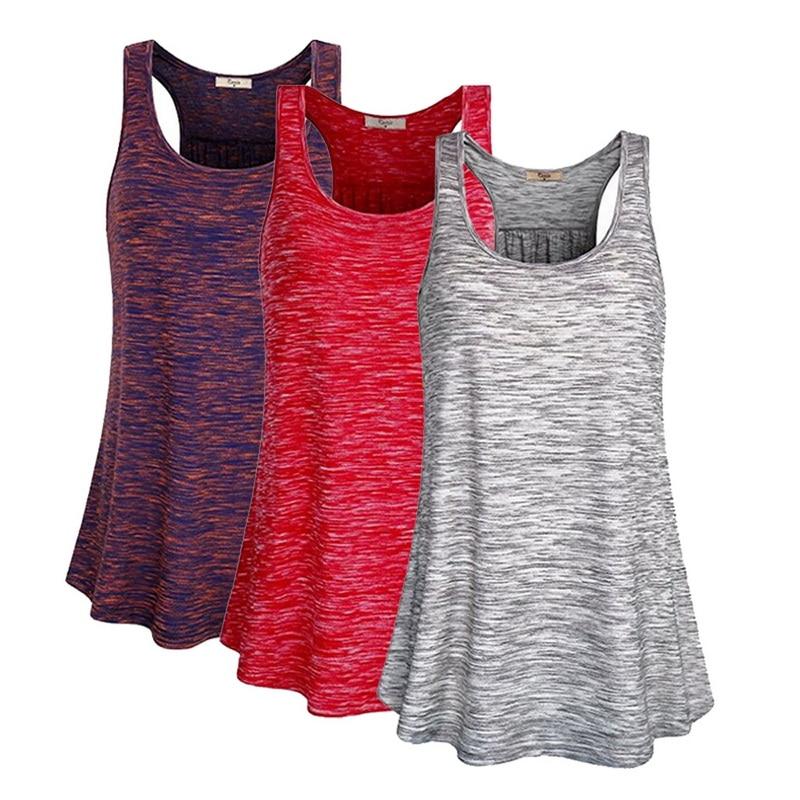 Chaleco trasero con forma de I de verano 2020 para mujer, Camiseta deportiva para correr, camiseta para gimnasio, Yoga, Top, chaleco suelto sin mangas para correr para mujer