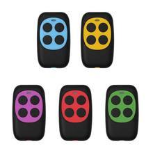 433 mhz contrôleur coloré électrique porte de Garage télécommande clé FOB clonage Cloner 4 clés porte contrôleur