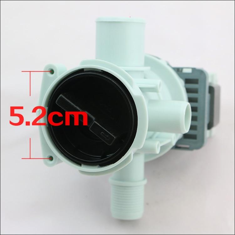 1pcs Original drain pump for samsung washing machine parts WF-C863/C963/R1053/R853  whole package drainage pump
