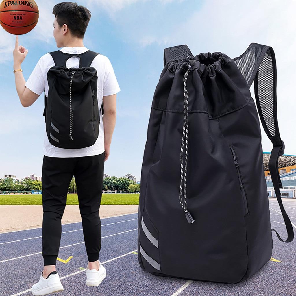 Mochila multifuncional de viaje para hombre, mochila grande para entrenamiento de baloncesto, bolsa para alubias, bolsa deportiva para Fitness K621