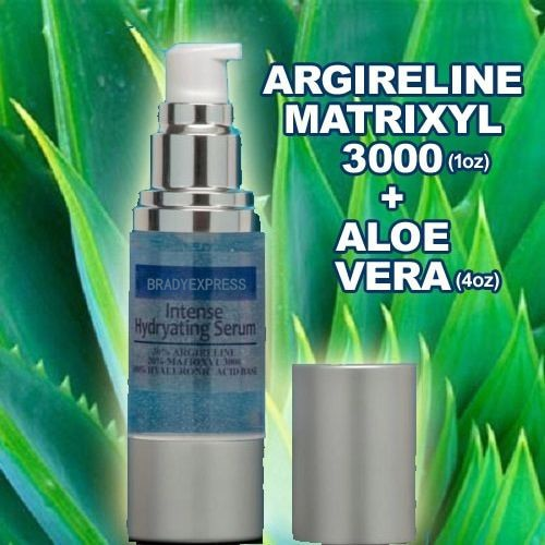 Новый 100% чистый органический гель алоэ вера Argireline Matrixyl 3000 Гиалуроновая кислота сыворотка Бесплатная доставка