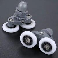 1pc twin shower door roller wheels runners pulley 26mm wheels diameter