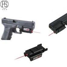 2018 chaud! Extérieur tactique rouge point Laser portée de visée tir chasse portée Airsoft Sport rouge point pistolet fusil pistolet vue Laser